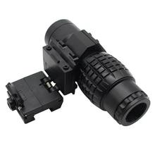 Lente d'ingrandimento telescopio leggero durevole strumenti di giro turistico in plastica Bird Watching Airsoft attrezzatura da caccia lente d'ingrandimento 3x