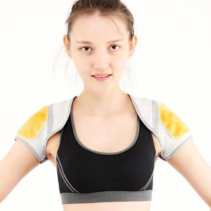 Auto-aquecimento ímã elástico ombros protetor apoio bandagem