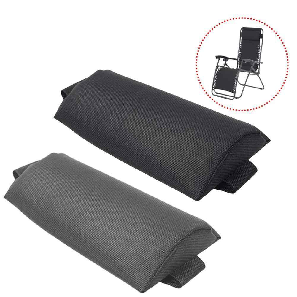 recliner headrest beach folding chairs teslin pillow pad garden backyard picnics sling lounge chair head cushion