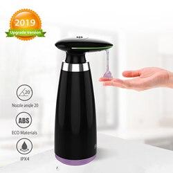 SVAVO 350ml automatyczny dozownik mydła w podczerwieni bezdotykowy ruch dozownik łazienkowy inteligentny czujnik dozownik do mydła w płynie do kuchni