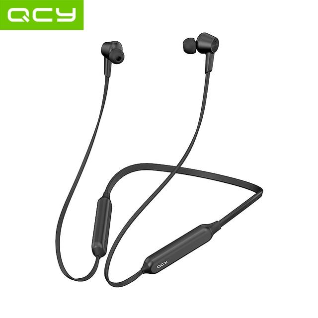QCY L2 سماعات لاسلكية IPX5 مقاوم للماء ANC إلغاء الضوضاء سماعات لاسلكية بلوتوث 5.0 الرياضة سماعات مع هيئة التصنيع العسكري