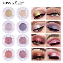 Professional Shiny Eye Liners Cosmetics for Women Pigment Silver Rose Gold Color Liquid Glitter Eyeliner Cheap Makeup Beauty #ZG(China)