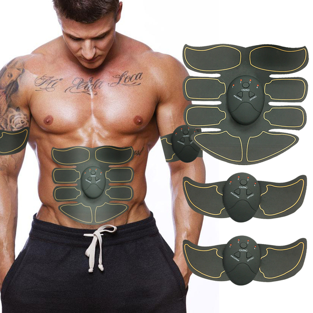 Details about  /Unisex Abdominal Hip Smart Trainer Electric Muscle Stimulator Buttocks Exercise
