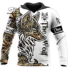 Wolf Printed Hoodies Men 3d Hoodies Brand Sweatshirts Jackets Quality Pullover Fashion Tracksuits Animal Streetwear Out Coat-8 hampson lanqe animal wolf printed men hoodies sweatshirts 2019 warm fleece coat brand punk hoodie harajuku men s jackets cm01
