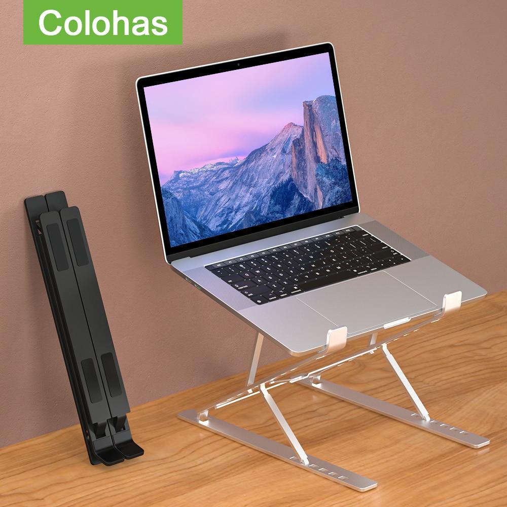 suporte para notebook,suporte notebook,Suporte ajustável do portátil base suporte de mesa portátil notebook suporte para macbook computador portátil tablet suporte