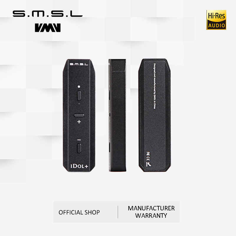 Clearance SMSL Idol + Mini Headphone Amplifier USB Audio Portable DAC MAX97220A Cocok untuk Kebanyakan Earphone Micro USB 24bit/ 192 KHz