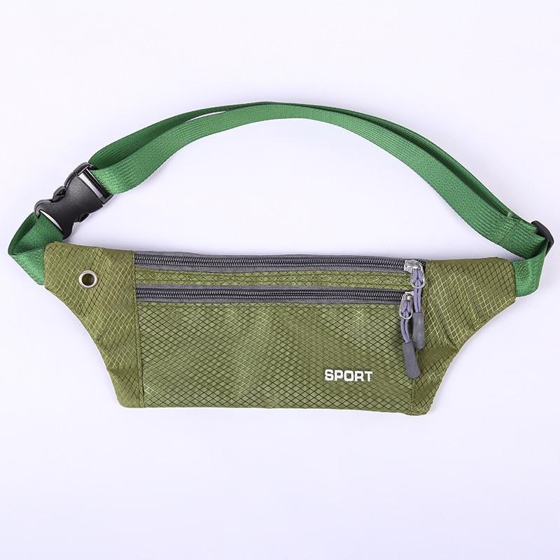 Sports Waist Pack Riding Mountain Climbing Body Hugging Multi-functional Outdoor Bag Waterproof Wearable Men And Women Wallet Sh