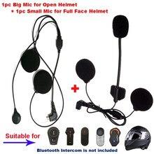 Freedconn microfone fone de ouvido alto-falante acessórios terno para T-MAX T-COMVB TCOM-SC os bluetooth capacete intercom fone de ouvido peças