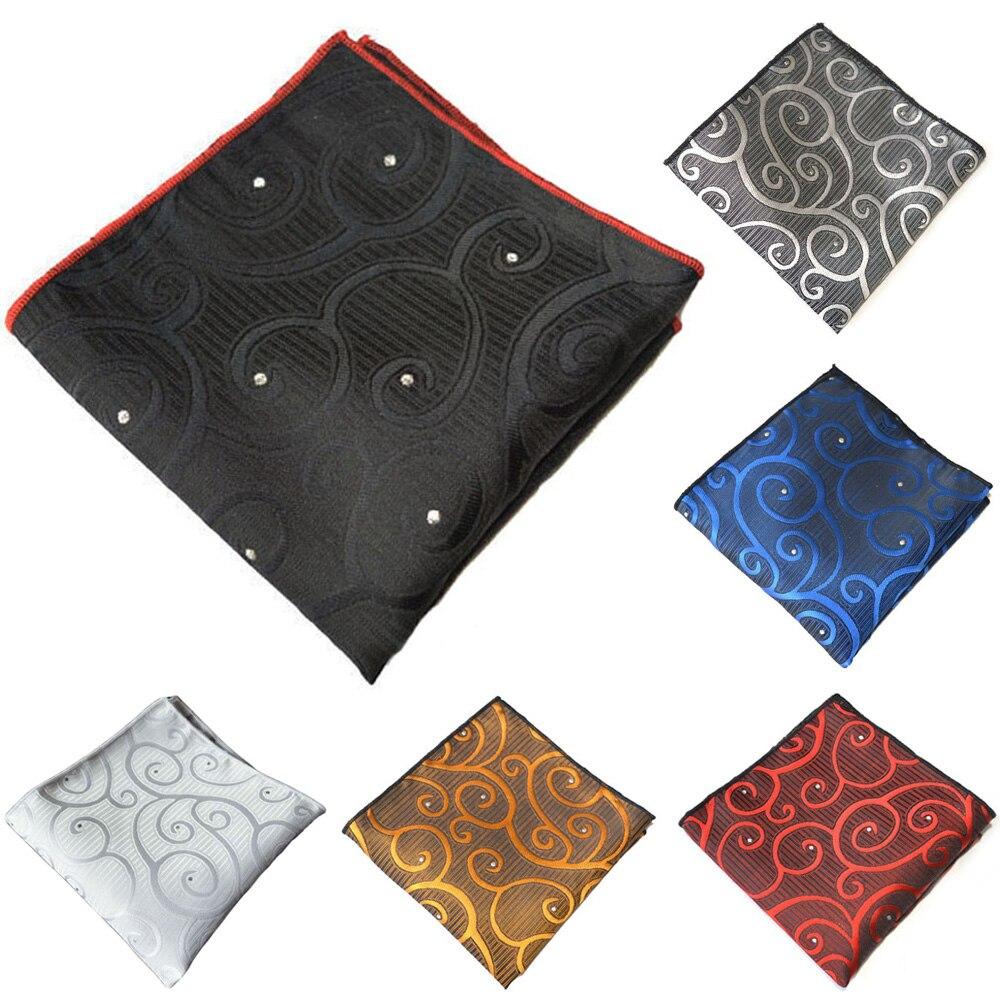 Мужской высококачественный стильный носовой платок с принтом Hanky деловой Карманный платок для костюма YXTIE0332