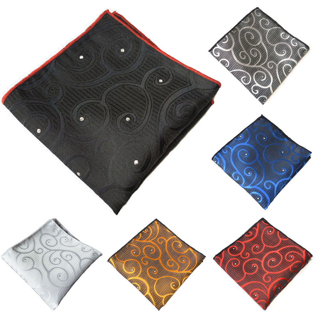 Men High Grade Stylish Printed Handkerchief Hanky Business Suit Pocket Square YXTIE0332