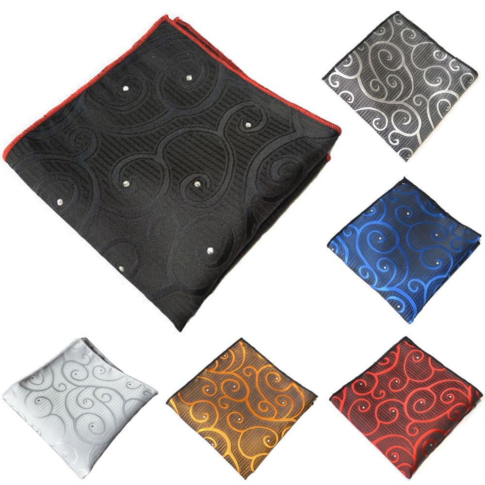 Men High Grade Stylish Printed Handkerchief Hanky Business Suit Pocket Square YXTIE0332