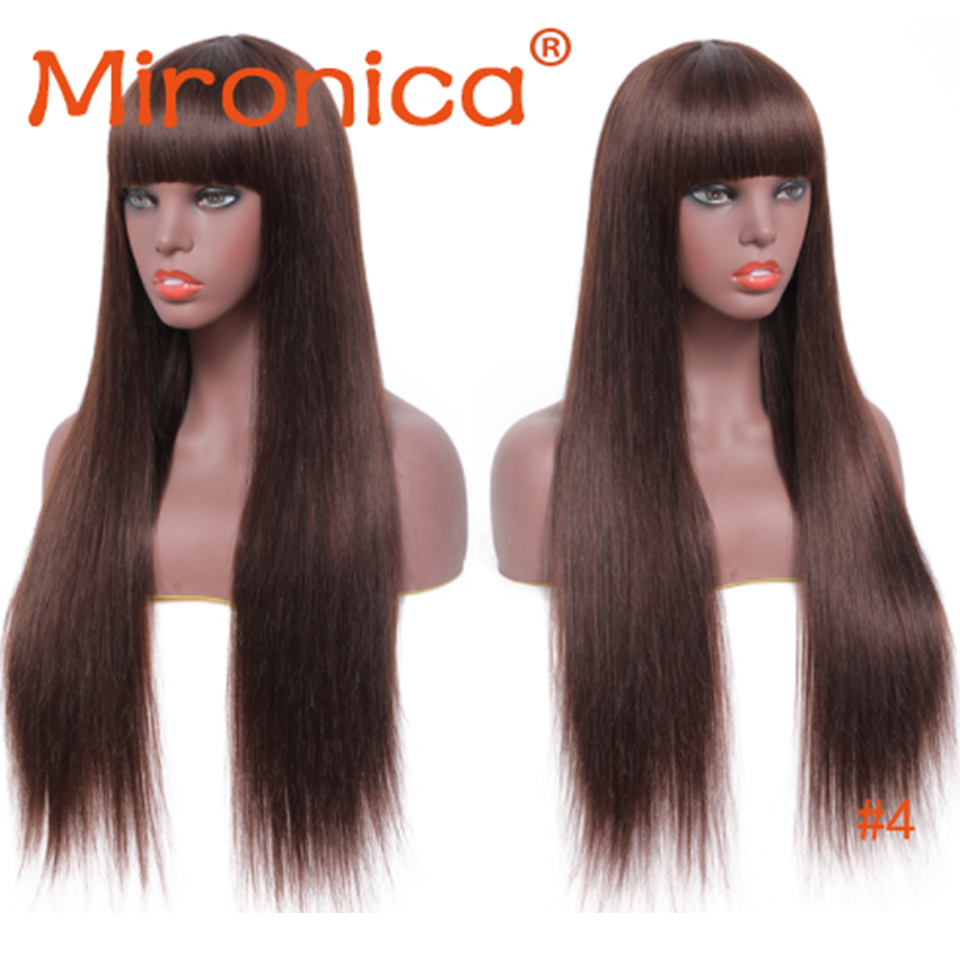 perucas retas brasileiras do cabelo humano com 04
