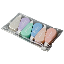 YMZ 4pcs/set Mini correction tape Solid color translucent Corrector Kids Student Altered tape School Office Supplies