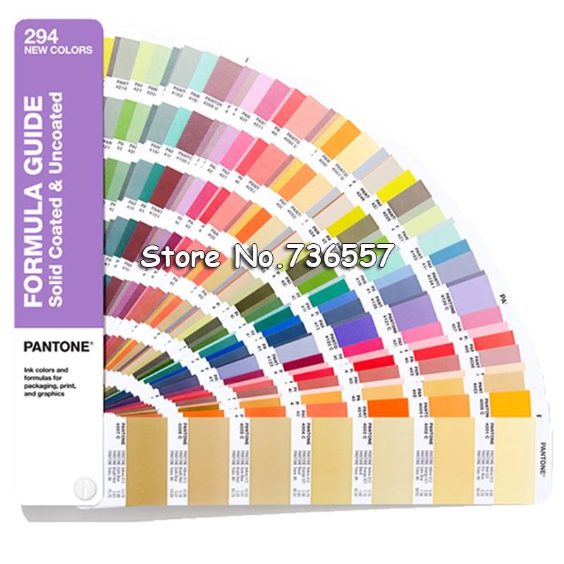 2019 New PANTONE Color Card International Standard Added 294 Color C Card U Card GP1601A-SUPL