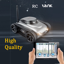 Free Shipping iPhone / iOS WiFi RC i-Spy Tank w/ Live Video Camera Functions