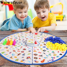 цены Puzzle Detectives Game Looking Chart Board Brain Training Educational Game Strategy High Quality Plastic Card Party for Kid Y017
