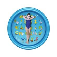 2020 nowa zagęszczona ochrona środowiska dzieci bawią się Pad woda Spray Pad gra na zewnątrz Pad Spray basen Splash Pad nadmuchiwane tanie tanio 2-4 lat 5-7 lat 8 ~ 13 Lat