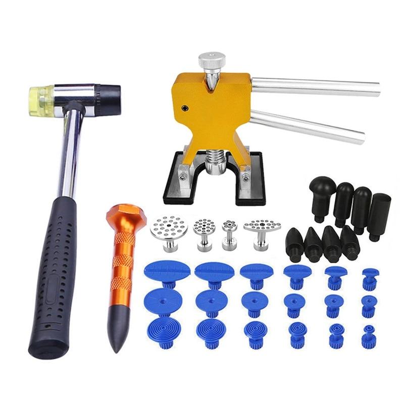 SHGO HOT-Tools Paintless Dent Removal Dent Removal Paintless Dent Puller Auto Repair Tool Glue Tabs Hail Repair Tools Type-1