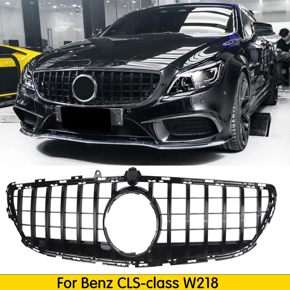 suitable for Mercedes-Benz CLS Class <font><b>W218</b></font> GT R GTR <font><b>Grille</b></font> 2015-17 <font><b>W218</b></font> <font><b>Grille</b></font> without emblem image