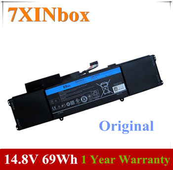 7XINbox 14.8V 69WH Original L421X 4RXFK C1JKH FFK56 Laptop Battery For Dell Ultrabook XPS 14 XPS 14-L421x Series 14 8v 58wh new original laptop battery for dell xps l511z l511x l412z 14z 15z series v79yo v79y0