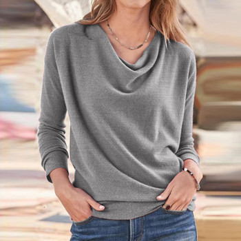 Long Sleeve Shirt Blusas Pullover 1