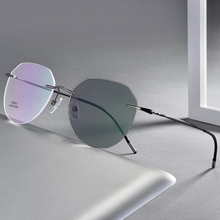 Dobrável anti luz azul óculos de miopia para mulher homem portátil telescópica pernas míopes óculos de computador 1.0 ~ 6.0 n5