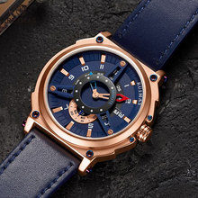 Mens Watches Top Luxury Brand Fashion Sport Watches Men Waterproof Quartz Clock Male Army Military Leather Wrist Watch xinew fashion sport watch luxury brand leather band men quartz watches clock men army military wrist watch for male clock gift r