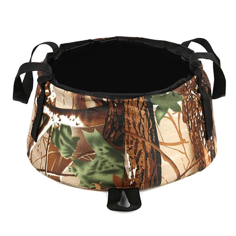 Portable Folding Collapsible Basin Large Travel Artifact Winter Foot Bath Bag Large Capacity Washing Bucket
