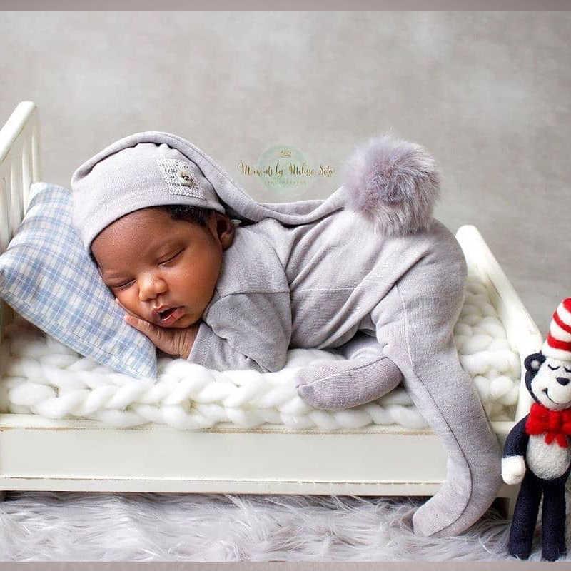 2019 Handmake Acessórios Adereços Fotografia de Recém-nascidos Romper Flokati Atirar Para O Estúdio Da Foto Do Bebé Calças Set Chapéu
