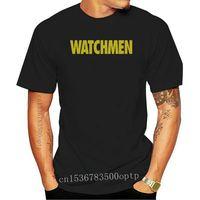 Watchmen-Camiseta de adulto con logotipo autorizado, de algodón de todos los tamaños Camiseta holgada, camiseta de talla grande