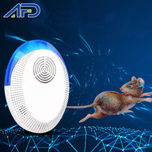 Répulsif antiparasitaire électrique ultrasonique, 2 pièces, souris d'intérieur domestique, Rat, moustique, insecte, rejet de parasites, prise US EU