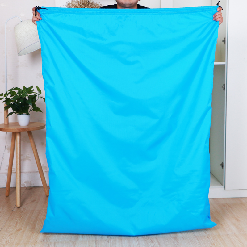 Oversized Toy Clothing Quilt Storage Bag Two-way Drawstring Bundle Extra Large Quilt Dust Bag Cloth Bag