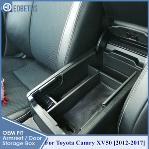 Image 2 - * Camry Car Armrest Box Center Console Storage Glove Box Organizer Insert Tray For Toyota Camry 2012 2013 2014 2015 2016 2017