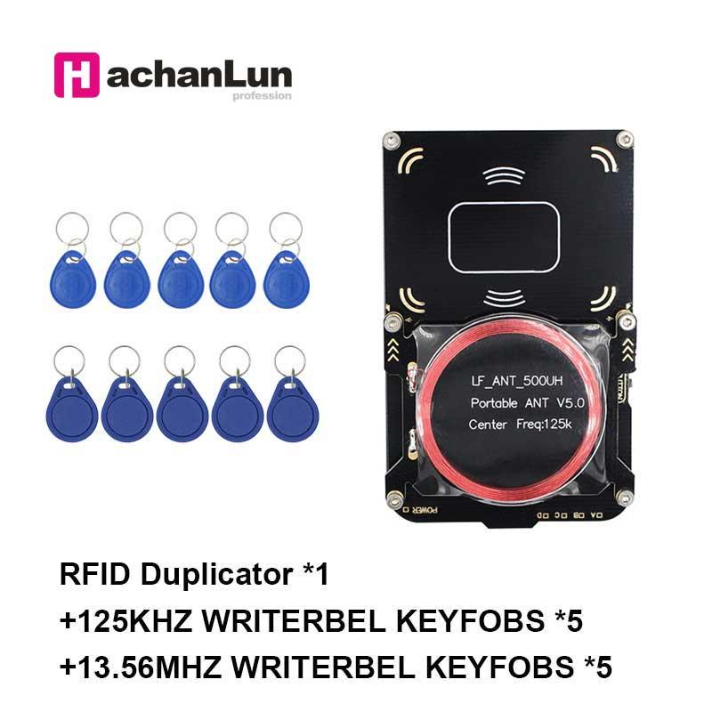 1 set proxmark3 chameleon integrated version access card replicator RFID write 13.56MHZ NFC smart chip encryption crack reader