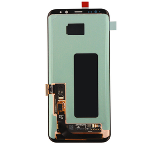 Image 2 - ORIGINAL SUPER AMOLED S8 LCD with Frame for SAMSUNG Galaxy S8 G950 G950F Display S8 Plus G955 G955F Touch Screen Digitizer