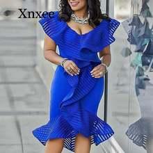 Женские вечерние платья голубого цвета сексуальное платье с