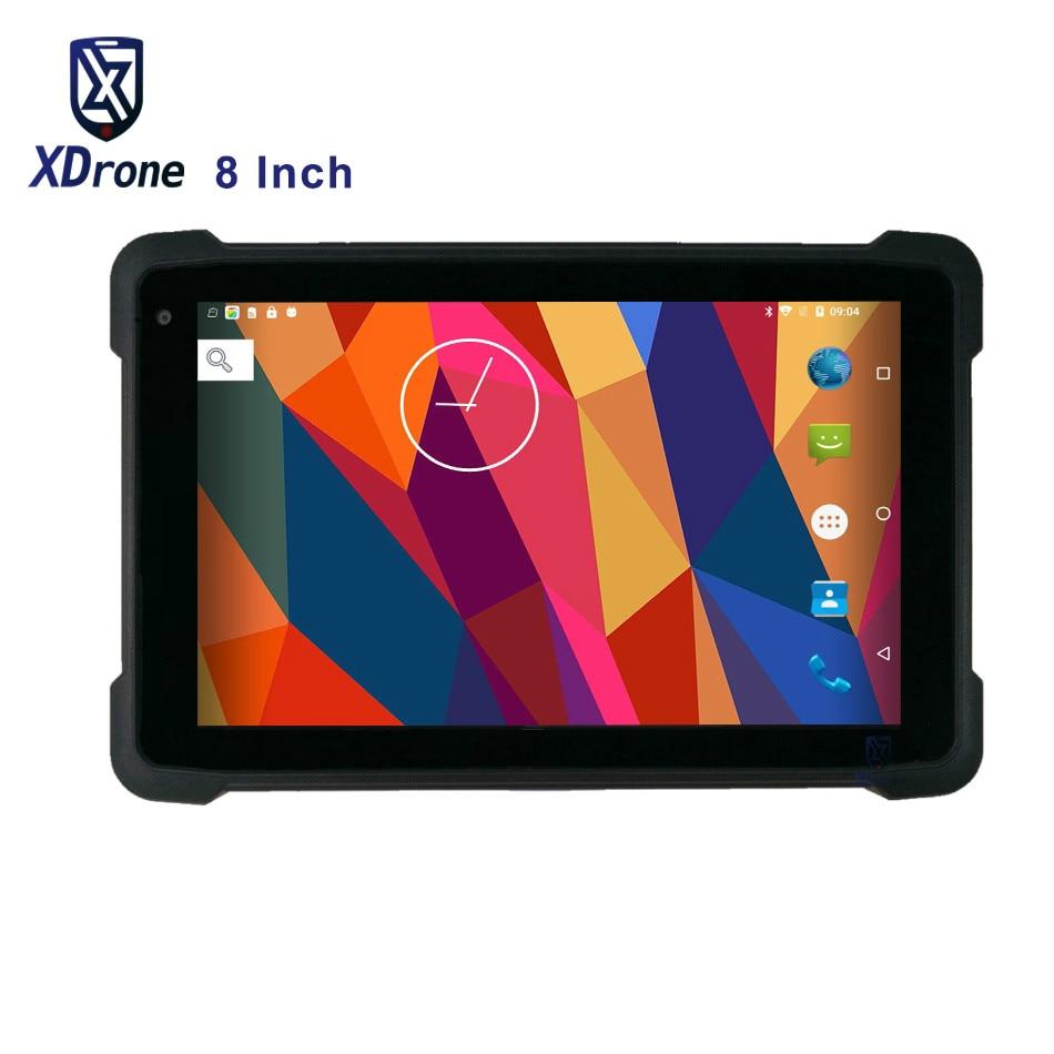 "2020 Original KT81 Rugged Tablet PC Kids Shockproof Android 8.1 8"" Wifi 4G LTE 2GB RAM IP67 Waterproof GPS 1D/2D Barcode Scanner"