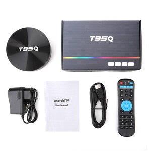 Image 5 - T95Q الروبوت 9.0 التلفزيون مربع 4GB 32GB Amlogic S905X2 رباعية النواة 2.4/5.8G Wifi BT4.1 100M 4K مشغل الوسائط 4GB64GB ريسيفر لتليفزيونات أندرويد الذكيّة