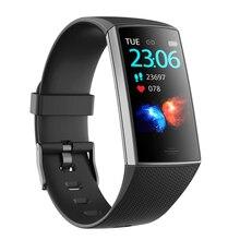 GIMTO bransoletka sportowa pomiar ciśnienia i Monitor tętna inteligentny zegarek mężczyźni śledzenie aktywności zespół opaska przypomnienie połączeń