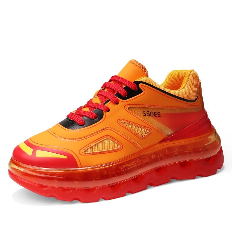 Décontracté Chaussures de Sport Unisexe Couple Marque Designer Plein Air Coussin Semelles