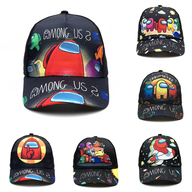 От 1 до 8 лет пространство игры среди бейсбольные кепки для мальчиков и девочек модные летние Snapback кепки Регулируемый мультфильм Детский под...