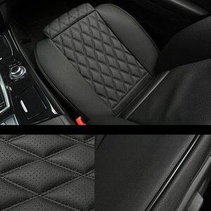 Image 2 - กันน้ำที่นั่งรถหนังUniversalรถยนต์ด้านหน้าเบาะรองนั่งProtector Mat PadสำหรับรถบรรทุกSuv Van