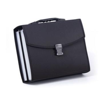 Folder A4 Folder akordeonowy wielowarstwowe przenośne torba na dokumenty 26 w dużej pojemności torba na dokumenty prezent biurowe materiały biurowe tanie i dobre opinie Rozszerzenie portfel 33 5*25 5cm Z tworzywa sztucznego 8826 9026 PP plastic 33 5CM*25 5CM student black white Accordion bag