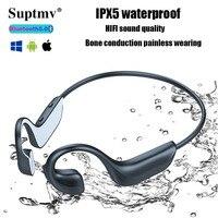 G100 Drahtlose Bluetooth Kopfhörer Surround Sound Knochen Leitung Kopfhörer Wasserdichte Sport Noise Reduction Ohrhörer Kopfhörer