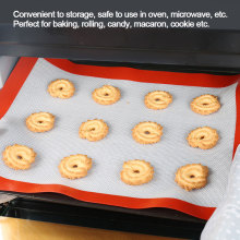 Перфорированный силиконовый коврик для выпечки жаростойкий Макарон для выпечки формы для выпечки торта коврик для теста коврик для выпечки кондитерский инструмент для выпечки кондитерских изделий