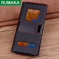 Echt Lederen Etui Tas Voor Huawei Mate X Xs 5G Fold Case Cover Voor Huawei Mate Xs Case Luxe handgemaakte Volledige Beschermhoes