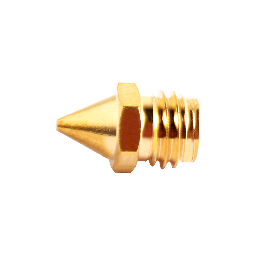 2 Pcs M7 Pointed Nose 0.4mm A10M Remote Two-in-one-out Print Head Nozzle