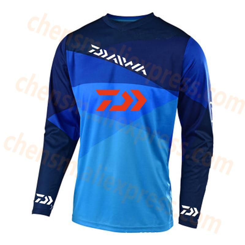 2020 DAIWA Fishing Clothing Men Ultrathin Sunscreen Long Sleeve Anti-uv Breathable Coat Summer Fishing Shirt Size XS-5XL Jacket