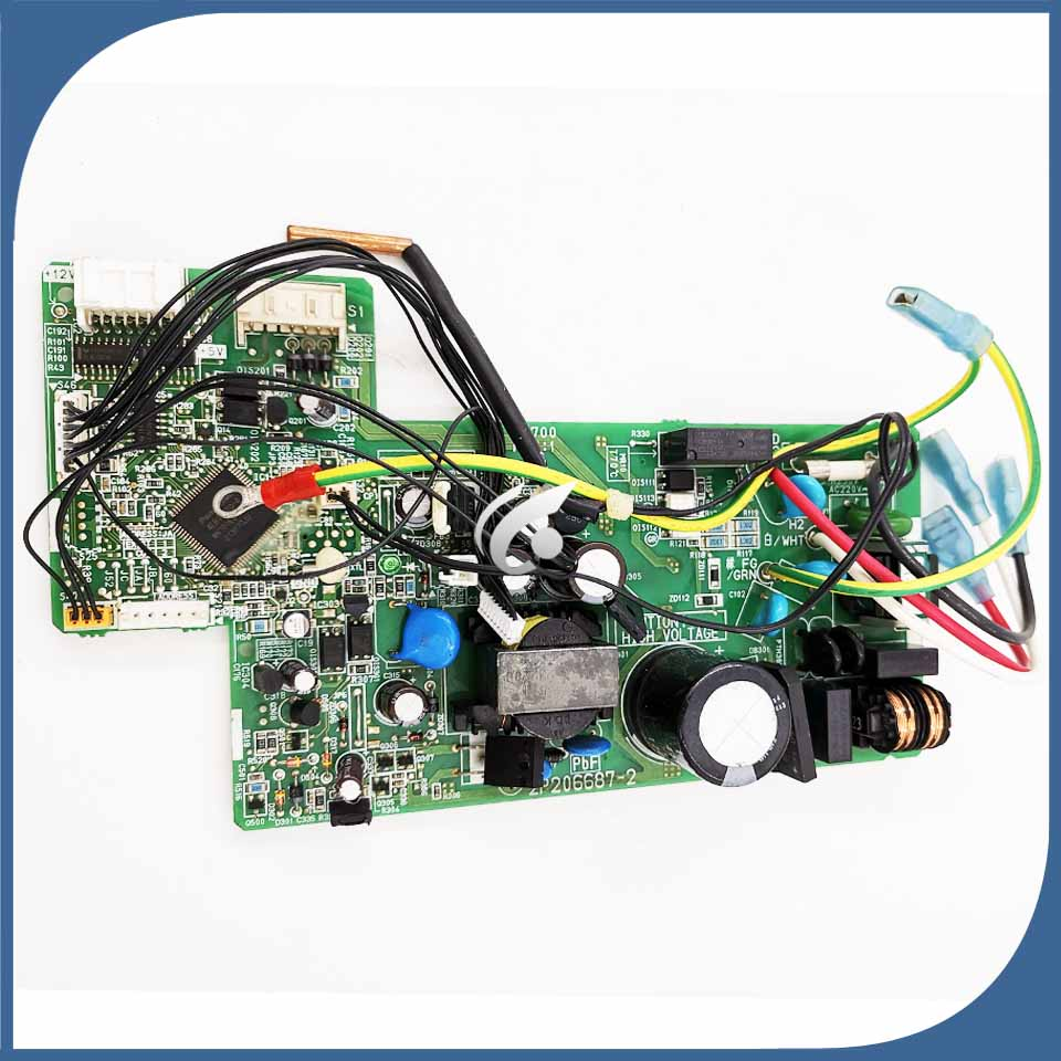 good working for air conditioner motherboard PC board FTXG50JV2CW control board 2P206687 2 2P206687 6