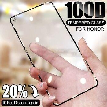 Перейти на Алиэкспресс и купить 100D закаленное стекло для Huawei honor 20 10 Lite 30 30S 20S 20i Защита экрана для Honor 20 Pro V20 V30 Pro защитная пленка